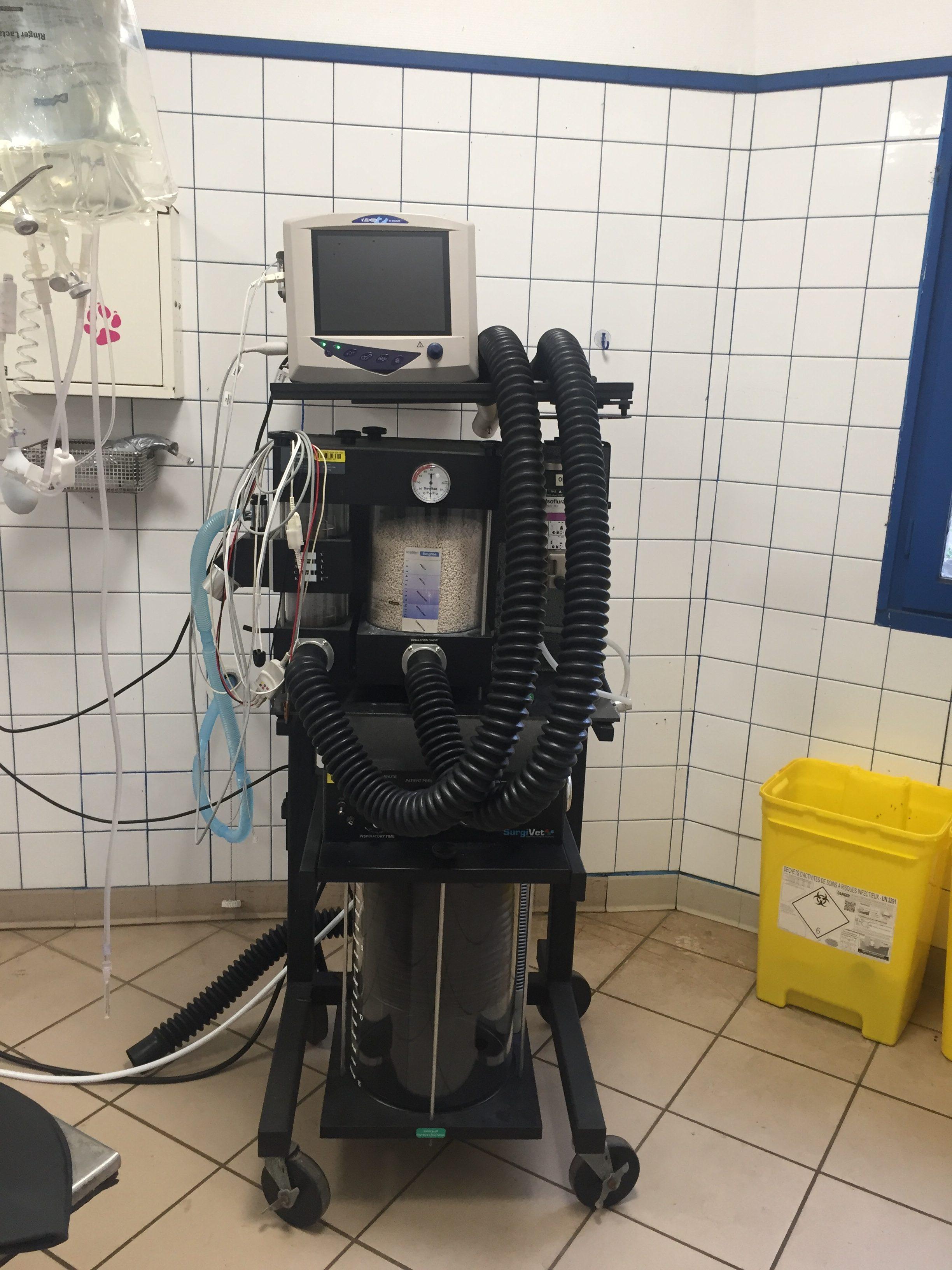 Appareil d'anesthésie gazeuse
